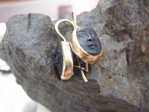 African Angel earrings