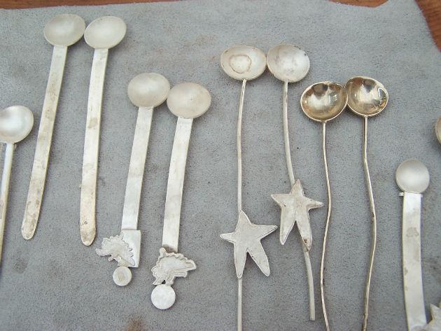 Espresso spoon set - unfinished
